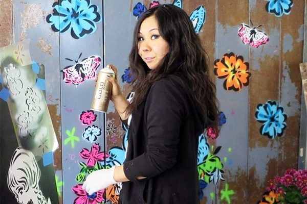 The Art of Lady Aiko - Graffiti, Mural and Street Art