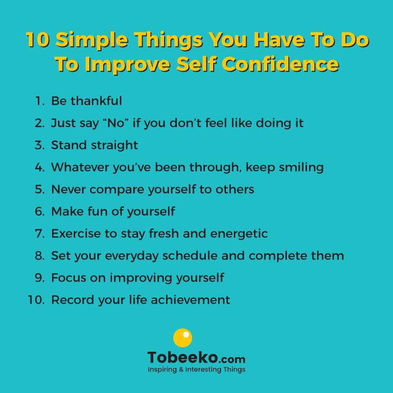 Why Do I Have No Self Confidence