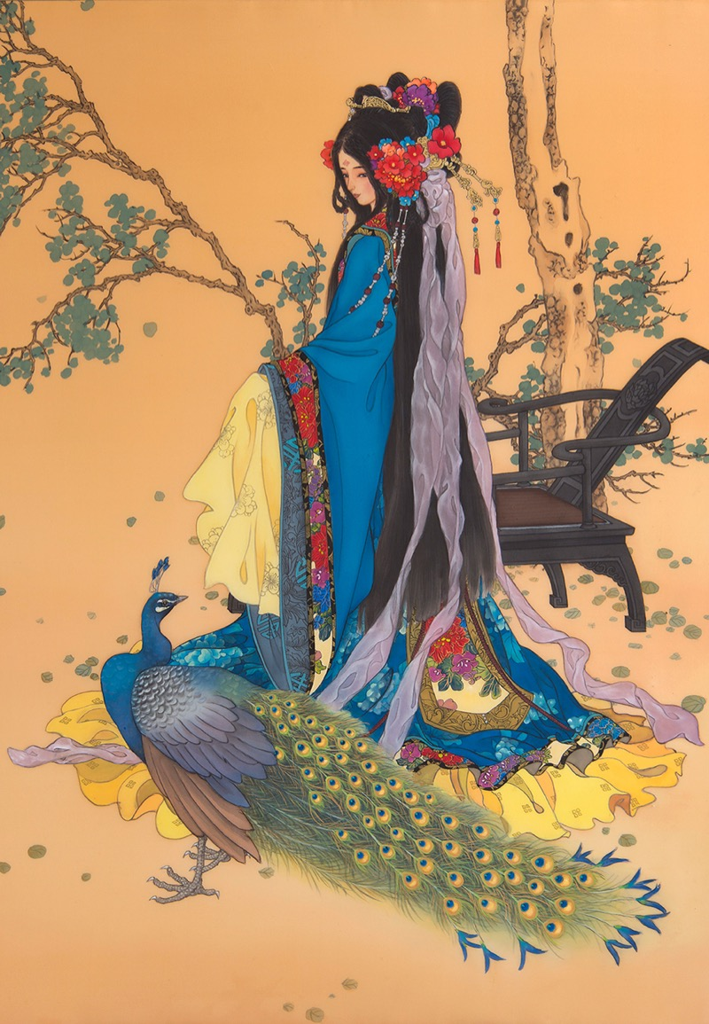 Caroline Young and Her Incredible Paintings of Chinese Civilization