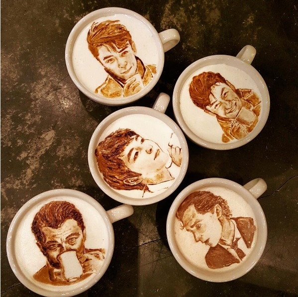 Lee Kang Bin Turns Cups Of Coffee Into Incredibly Beautiful Latte Arts Tobeeko