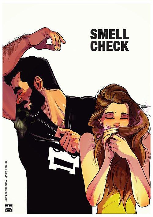 Artist Yehuda Adi Devir Illustrates Heartwarming Life with His Wife in Humorous Comics