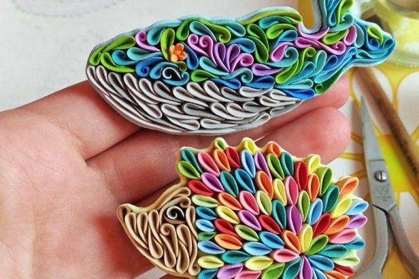 These Colorful Polymer Clay Creatures Are Created by Alisa Laryushkina