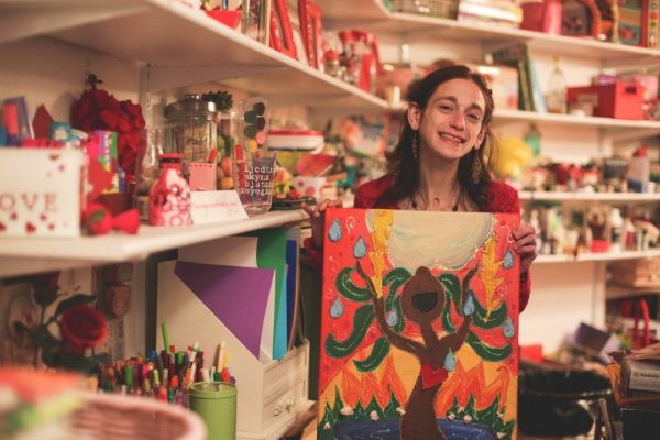 Amy Oestreicher: My Stomach Exploded But Later, Art Changed My Life