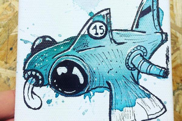 Valentinos Demetriou Draws Cute Mini Monsters Everyday