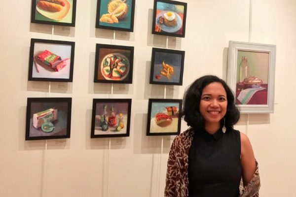 Artist Dian Paramita Paints Foods and Beverages From Various World Cultures