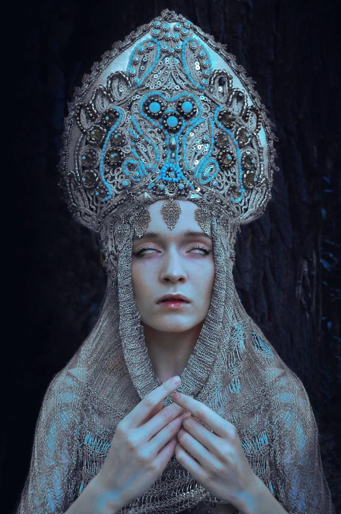 Costume Designer Agnieszka Osipa and Photographer Marcin Nagraba Take You Back To The Ancient Time Of Slavic Culture