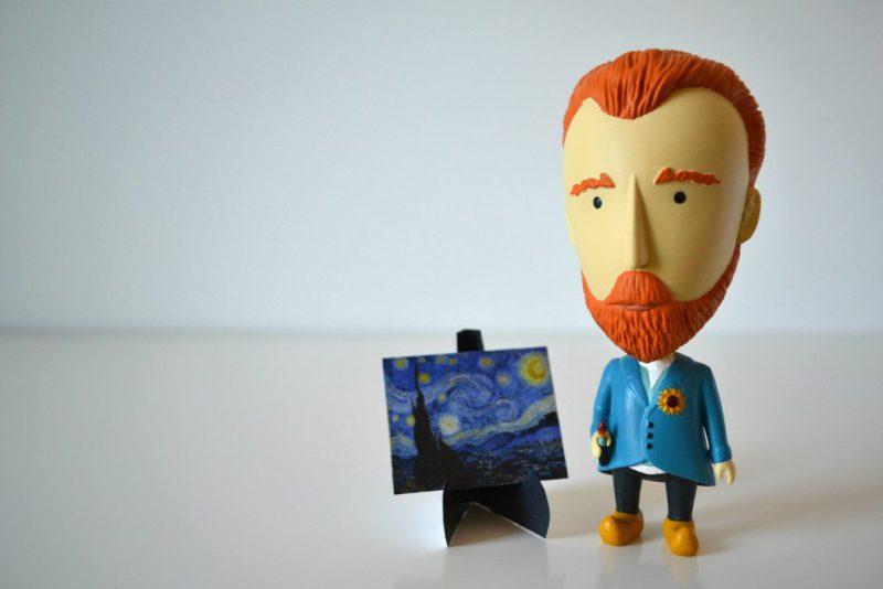 David Beaulieu Introduces Action Figures Of Art Heroes Through Today Is Art Day