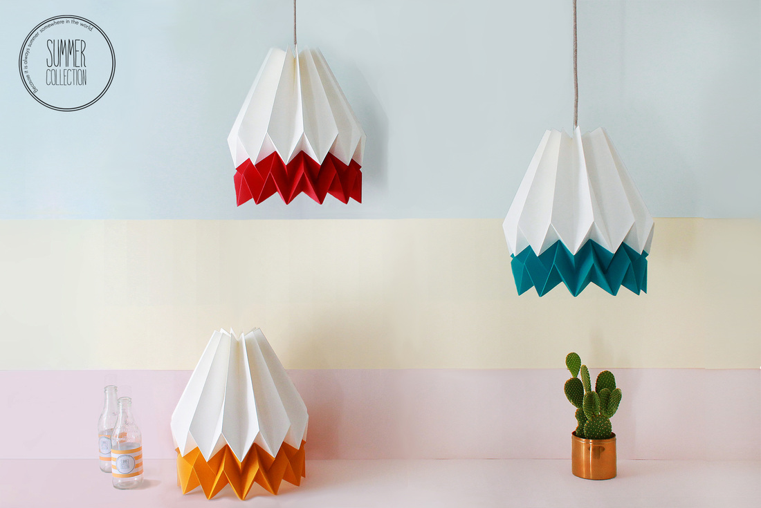 These Handmade Origami Lighting Shades By Orikomi Are Simply Perfect