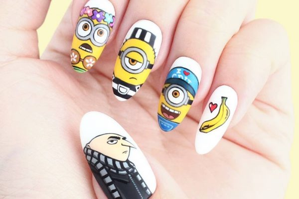 Vio from Popcoat Draws Incredibly Beautiful Nail Art