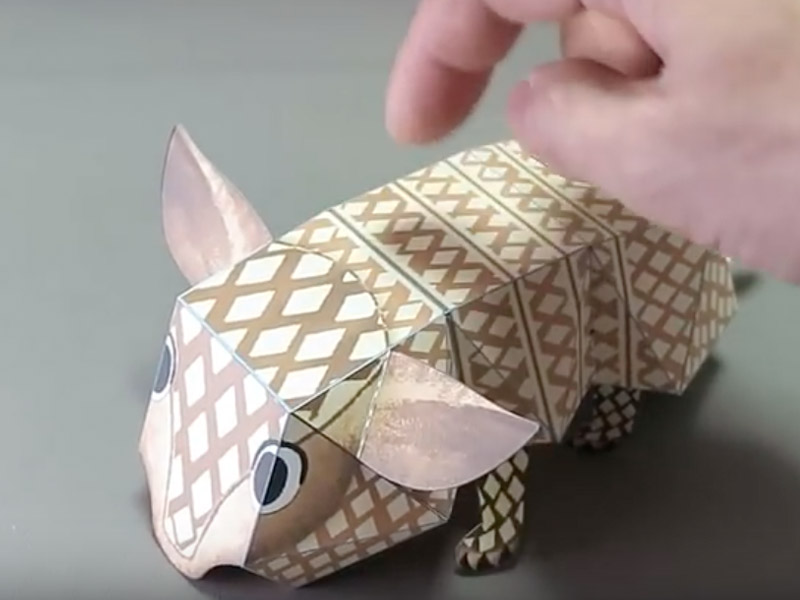 Haruki Nakamura Creates Amazing Karakuri Origami With Moving