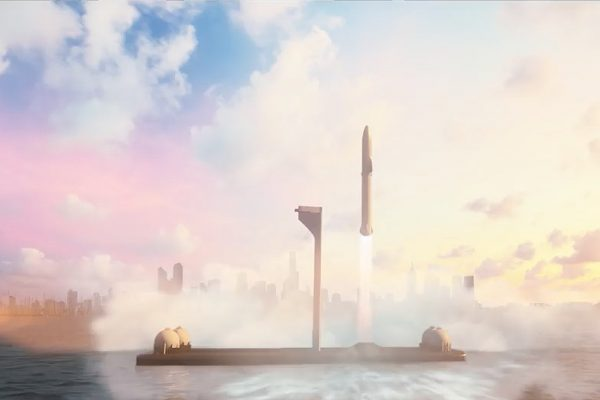 Earth To Earth With BFR, SpaceX Wants To Take People To Anywhere On Earth In Less Than One Hour