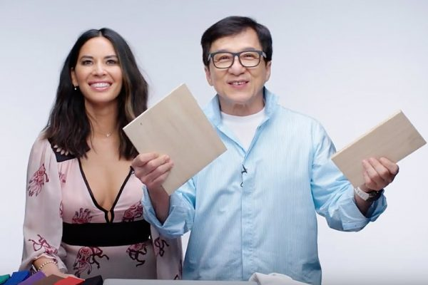 Jackie Chan And Olivia Munn Answer Martial Art Questions From Twitter