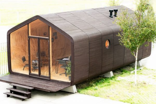 The Eco-friendly Wikkelhouse Is Made Of Cardboard And Can Be Built In One Day