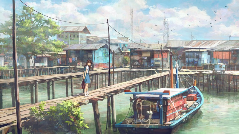 The Fantastic Scenes Of Urban Life By Chong Fei Giap