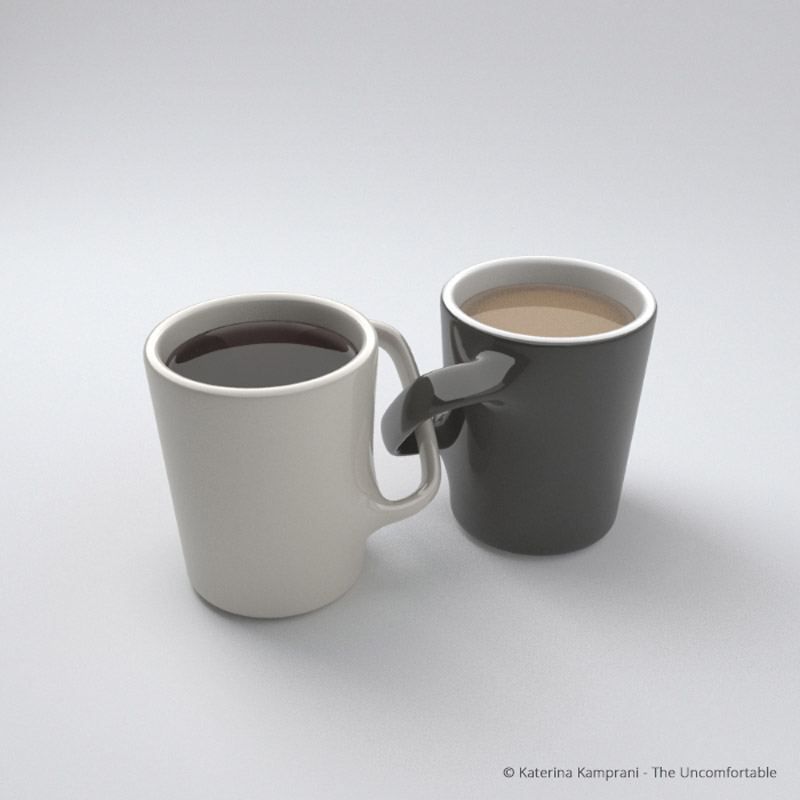 The Uncomfortable - A Collection Of Inconvenient Product Designs By Katerina Kamprani
