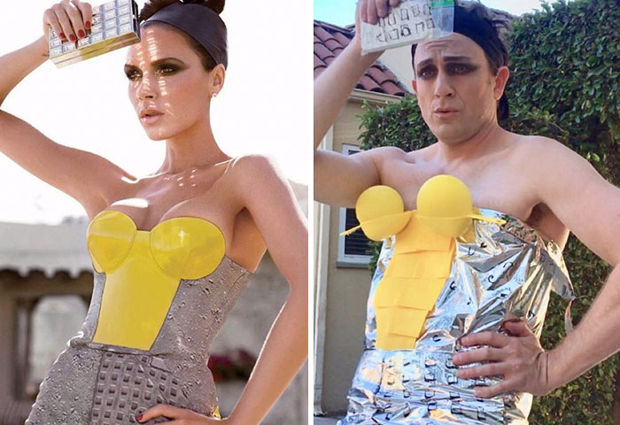 Hilarious Celebrity Outfits Recreated By Former 'Buffy' Star Tom Lenk