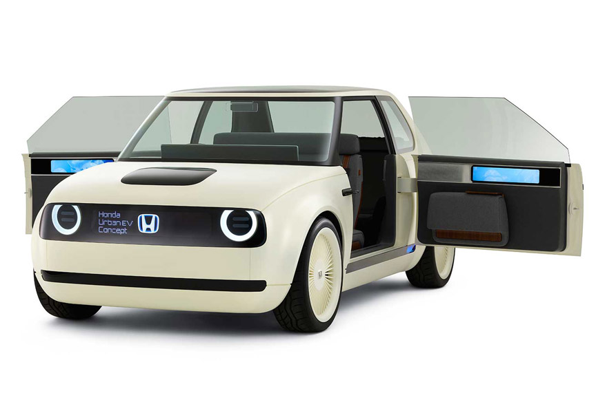 These Retro-Style Honda EV Concept Cars Are Adorable And Smart