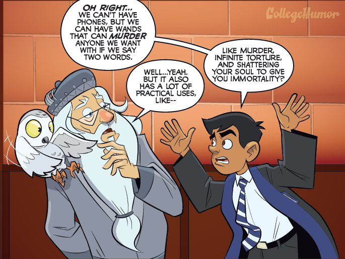 This Comic Explains Why Hogwart's Rules Don't Make Any Sense