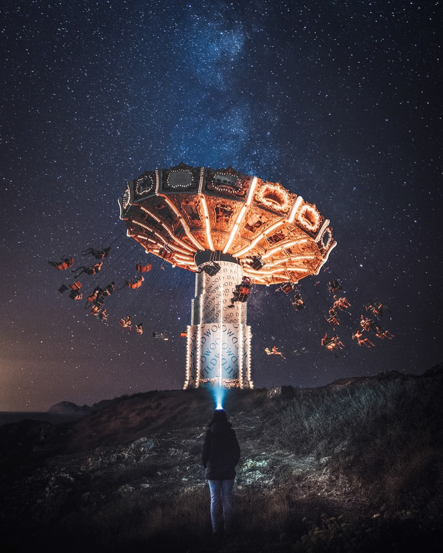 Digital Artist Justin Peters Creates Surreal Digital Art to Bring Imanigary World to Life